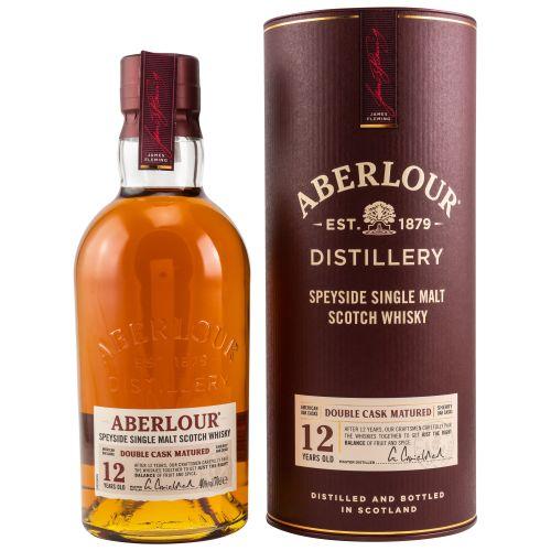 Aberlour 12 YO Double Cask Speyside Single Malt Whisky 40% 0,70l
