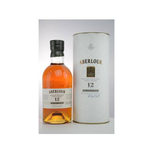 Aberlour 12 YO non-chill-filtered Single Malt Whisky 48% 0,70l