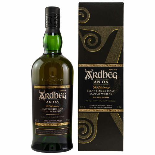 Ardbeg An Oa Islay Single Malt Whisky 46,6% 0.70l