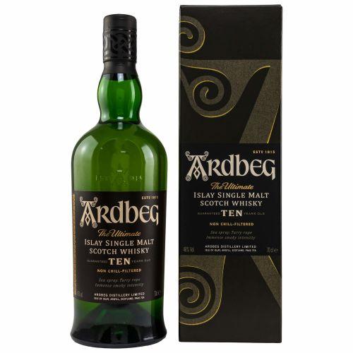 Ardbeg Whisky Ten 10 Jahre 46% (1 X 0,70L)