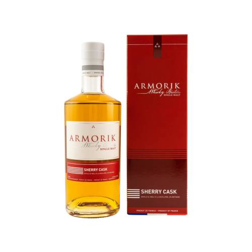 Armorik Single Malt Whisky Breton Sherry Finish 46% 0,70l