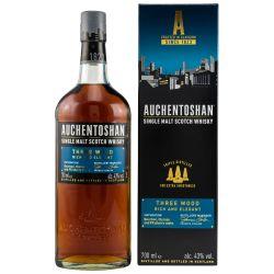 Auchentoshan Three Wood Lowland Single Malt Whisky 43% 0.70l