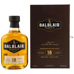 Balblair 18 Jahre Whisky 46% (1 X 0,70L)