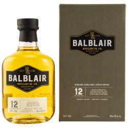 Balblair 12 Jahre Whisky 46% (1 X 0,70L)