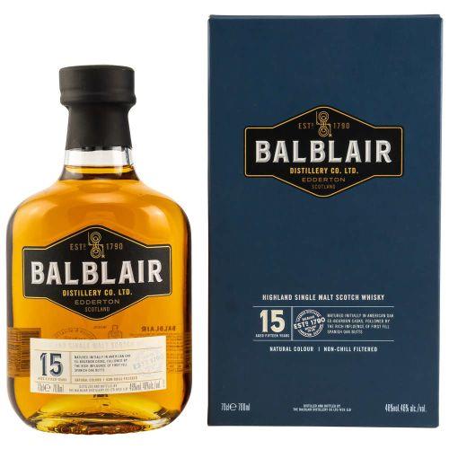 Balblair 15 Jahre Whisky 46% (1 X 0,70L)