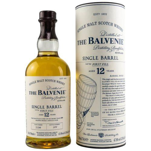 Balvenie Single Barrel 12 Jahre 0,70l 47,8%