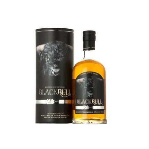 Black Bull 21 Jahre Blended Scotch Whisky 50% vol. 0.70l