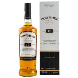 Bowmore 12 YO Islay Single Malt Whisky (1 X 0,70l)