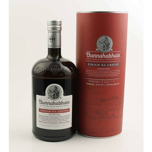 Bunnahabhain Whisky Eirigh Na Greine 46,3% (1 X 1,0L)