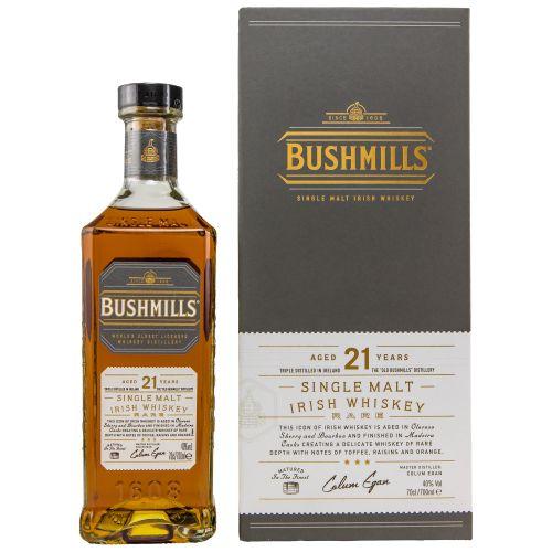 Bushmills 21 Jahre Madeira Finish Whiskey 40% vol. 0,70l