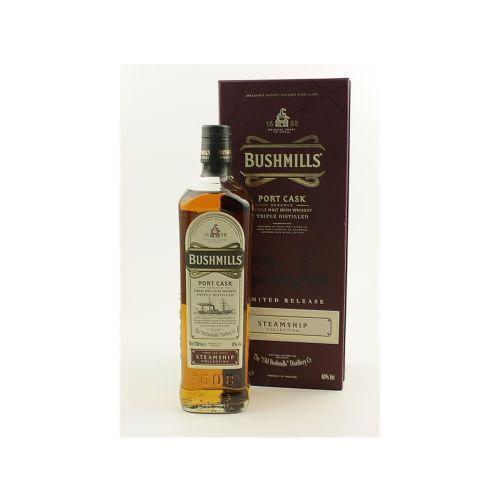 Bushmills Port Cask Whisky The Steamship (40% vol. 700ml)