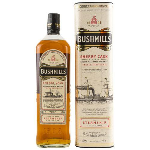 Bushmills Irish Whiskey Sherry Cask The Steamship 40% 1,0l