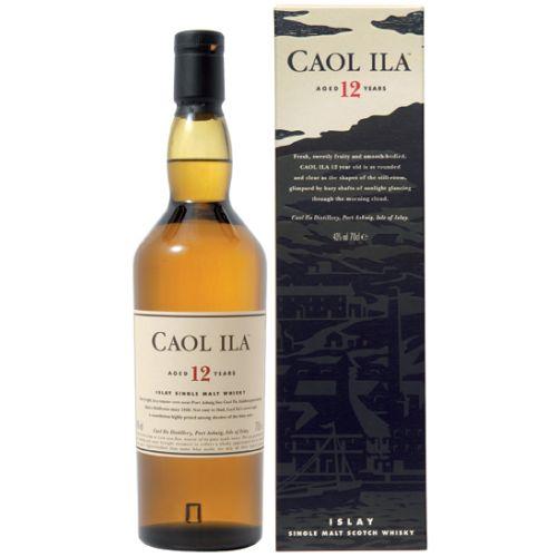 Caol Ila 12 YO Single Malt Whisky 43% vol. 0,70 Liter