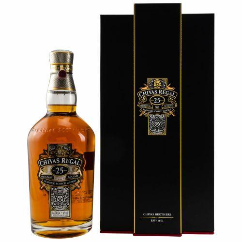 Chivas Regal 25 YO Blended Whisky 40% 0,7l