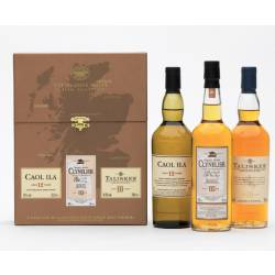 Classic Malts Whisky Coastal Collection 3x0,20l (Braun)