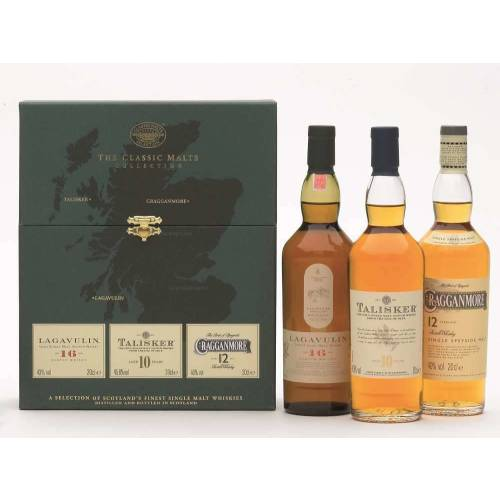 Classic Malts Whisky Strong Collection 3 x 200ml (Grün)