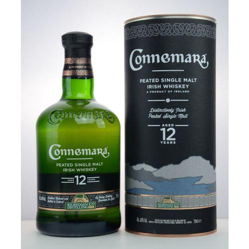 Connemara Irish Whiskey 12 YO Peated Single Malt 40% vol. 0,70 Liter