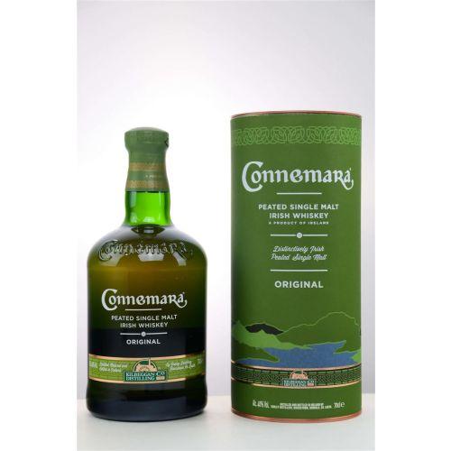 Connemara Original Peated Single Malt Irish Whiskey 40% vol. 0,70 Liter