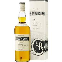 Cragganmore 12 Speyside Single Malt Whisky 40% vol. 0,70...