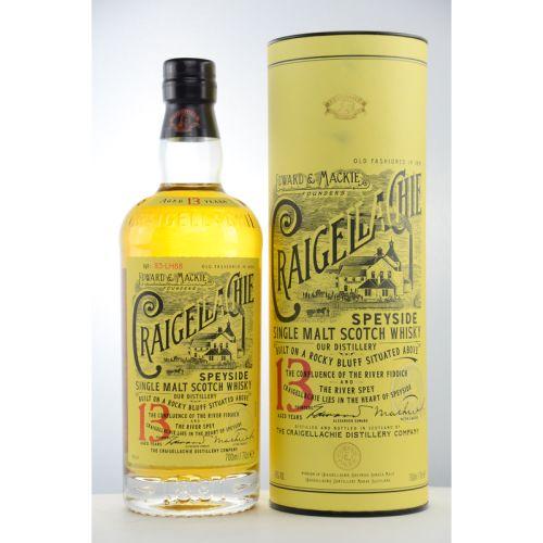 Craigellachie 13 YO Speyside Single Malt Whisky 46% 0,70l