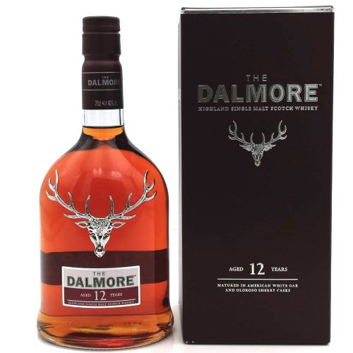 Dalmore 12 YO Highland Single Malt Whisky 40% 0,70l