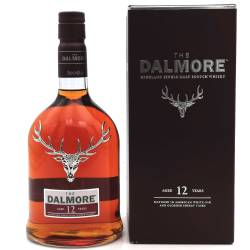 Dalmore 12 YO Highland Single Malt Whisky 40% 0,70l