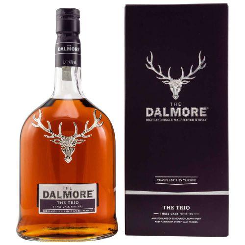 Dalmore Trio Travellers Exclusive 40% vol. 1.0l