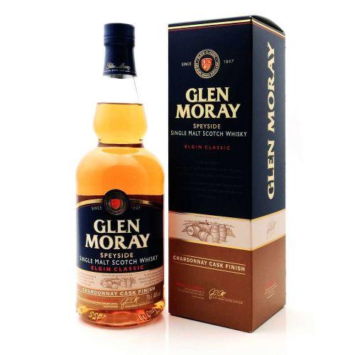 Glen Moray Chardonnay Cask Finish Single Malt Whisky 40% 0,70l