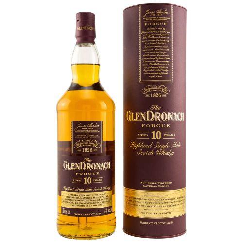 Glendronach Forgue Single Malt 10 Jahre Whisky 43% 1,0l