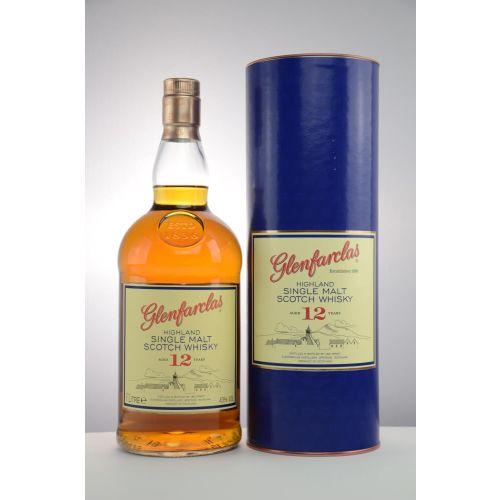 Glenfarclas 12 Jahre Single Malt Whisky 43% vol. 1.0l