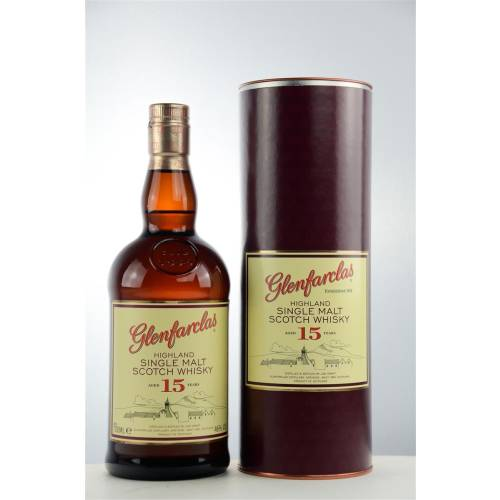 Glenfarclas 15 Jahre Single Malt Whisky 46% vol. 0,70l