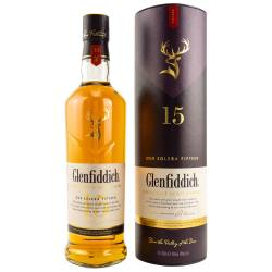 Glenfiddich 15 YO Solera Speyside Single Malt Whisky 40%...