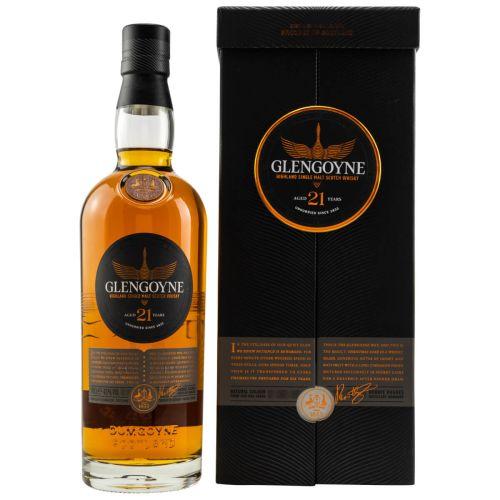 Glengoyne 21 YO Single Malt Whisky 43% vol. 0,70l