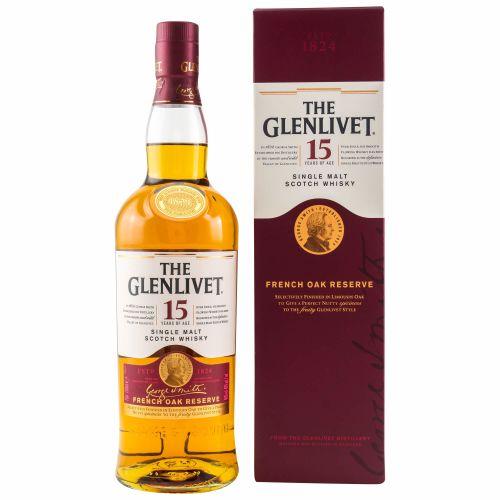 Glenlivet 15 Jahre French Oak Whisky 40% vol. 0,70l