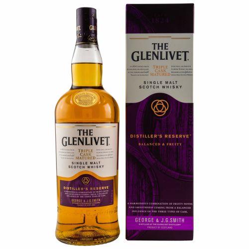 Glenlivet The Master Distillers Reserve Triple Cask Matured Whisky 40% vol. 1 Liter
