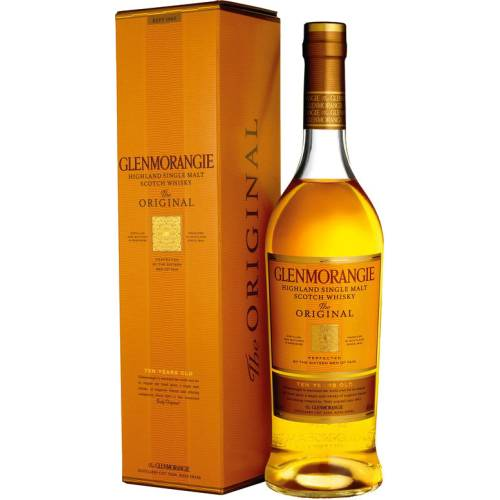 Glenmorangie 10 Original Single Malt Whisky 40% vol. 0,70 Liter