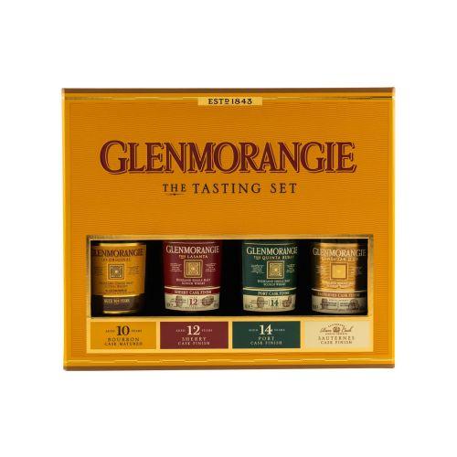 Glenmorangie Highland Whisky Probier Set Taster Pack 4 x 0,1 Liter