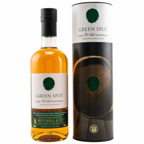 Green Spot Single Pot Still Irish Whiskey 0,7l 40%