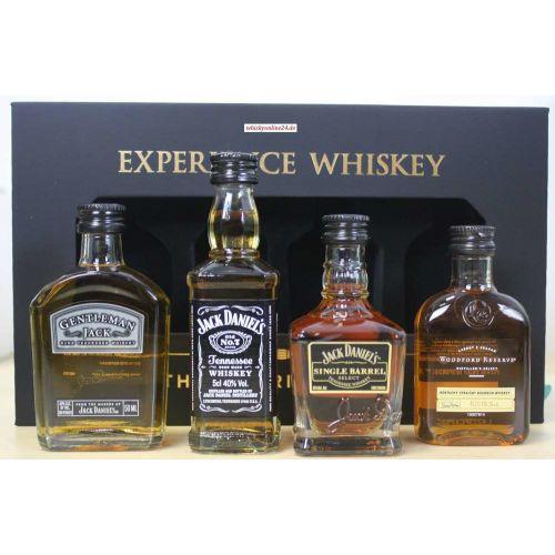 Jack Daniels Geschenkset The American Way 4x50ml