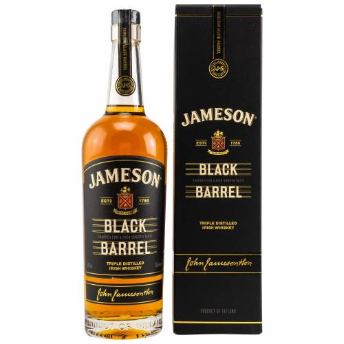Jameson Black Barrel Irish Whiskey 0,70 Liter 40% Vol.