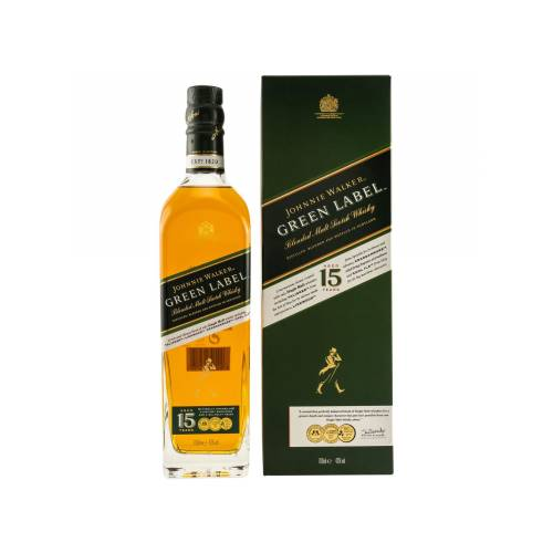 Johnnie Walker 15 Jahre Green Label 43% vol. 700ml