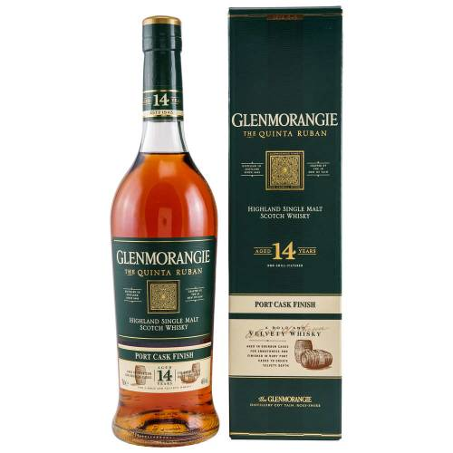 Glenmorangie Quinta Ruban 14 YO Whisky Port Cask Finish 46% 0,70l