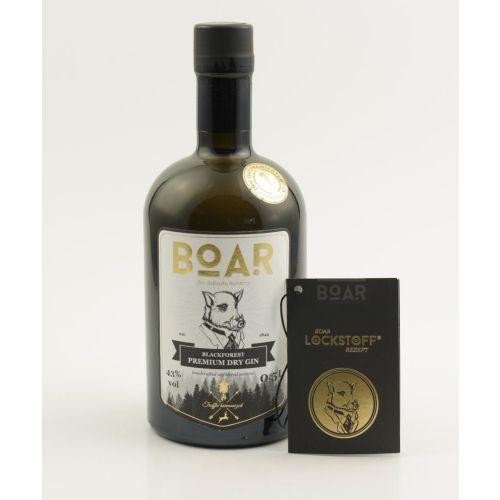 BOAR Blackforest Premium Dry Gin 43% Vol. 0,5L