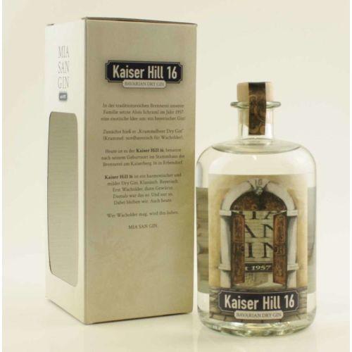 Kaiser Hill 16 Dry Gin 42% vol. 0,70l