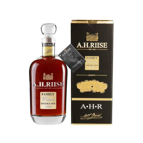 AH Riise Rum Family Reserve Solera 1838 - 42% 0.70l