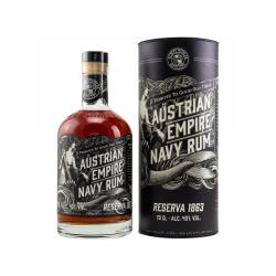 Austrian Empire Navy Rum Reserva 1863 - 40% Vol. 0.70l