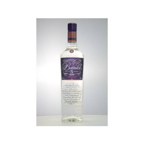 Banks Rum Island 5 Blend 43% vol. 0,70 Liter