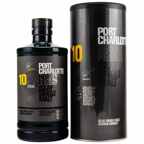 Port Charlotte Whisky 10 Jahre Heavily Peated 50% (1 X 0,70L)