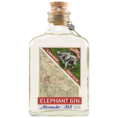 Elephant London Dry Gin 45% (1 X 0,50L)