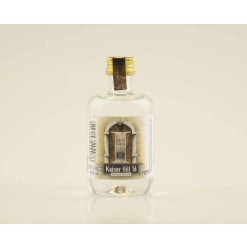 Kaiser Hill 16 Dry Gin -Mia San Gin- Miniatur 42% (1 X 0,04L)